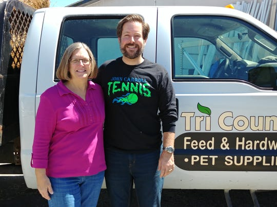 Family Meals' pet coordinator Terri Taylor and James