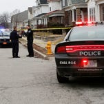 Police investigate after a man was shot in the 1000 block of Health Street Friday, February 5, 2016, in Lafayette. Police received the call of the shooting about 4:35 p.m.