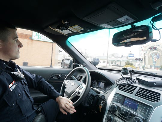 Officer Scott Davis of the Bucyrus Police Department
