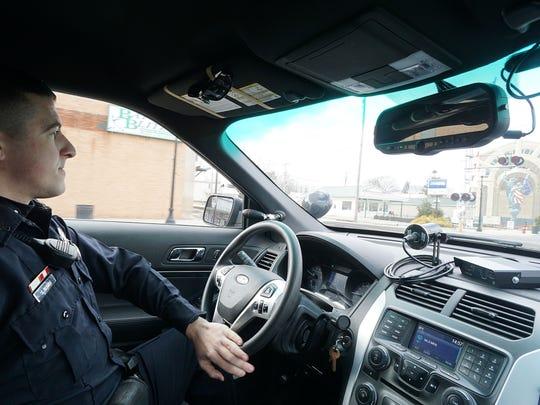 Officer Scott Davis of the Bucyrus Police Department