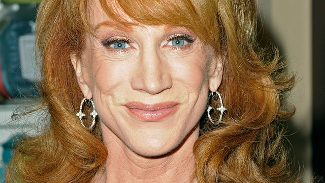Comedian Kathy Griffin.