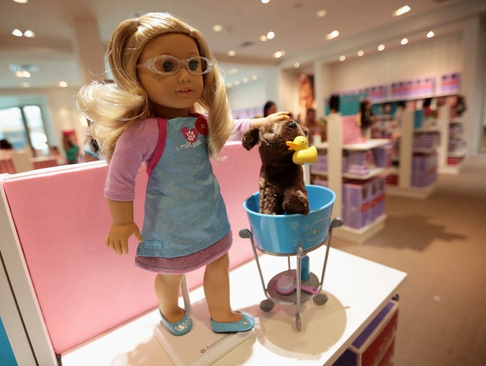 The opening of the American Girl store at Twelve Oaks