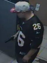 Armed-robbery suspect