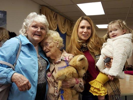Betty Morrell,Lena Pierce, Kimberly Miccio