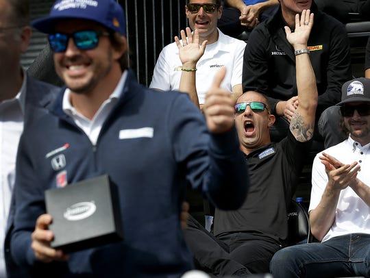 Chip Ganassi Racing IndyCar driver Tony Kanaan (10)
