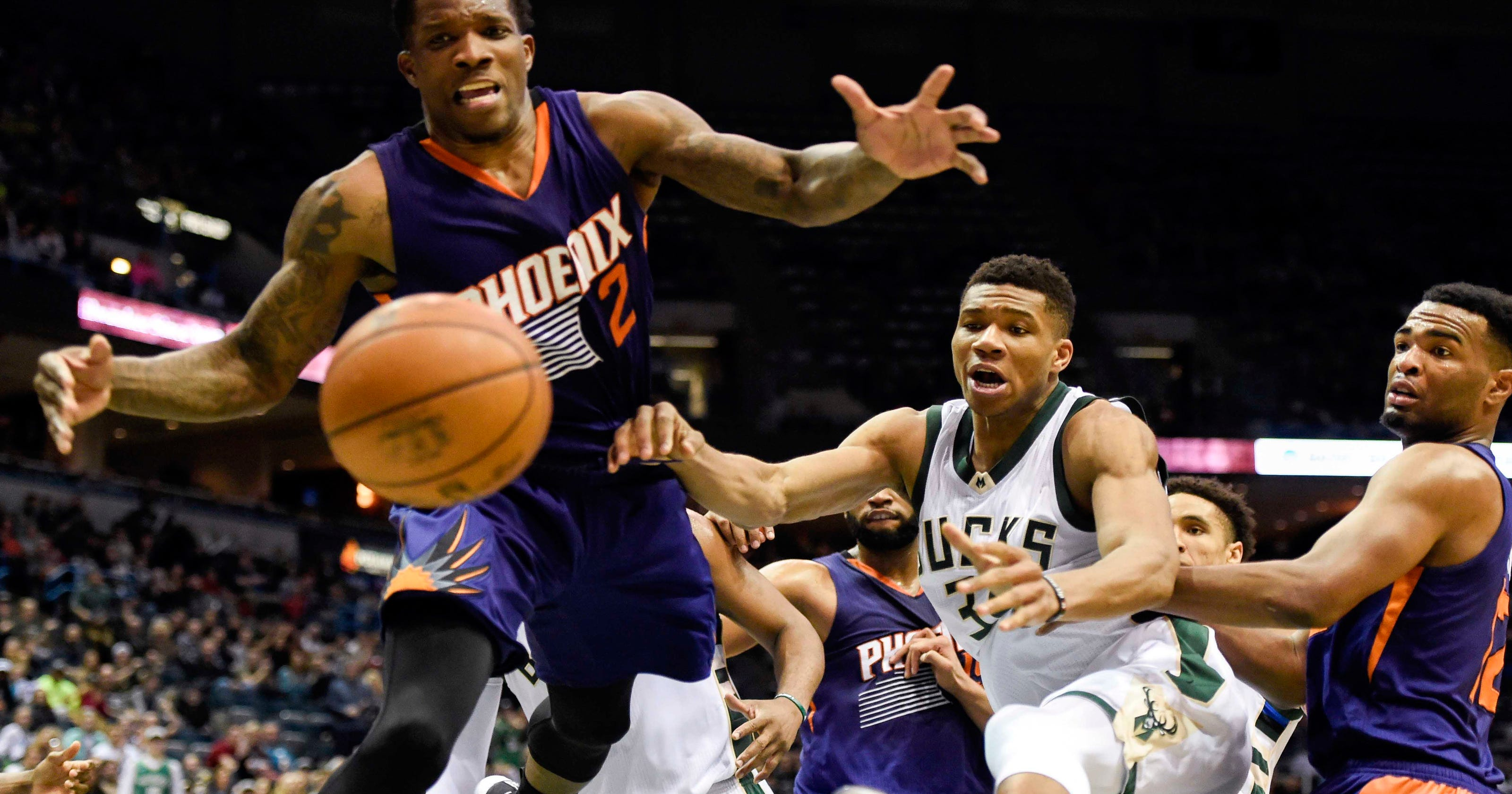 8b4a5ef59 Eric Bledsoe trade  NBA writers slam Phoenix Suns over trade with Milwaukee  Bucks