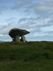 The dolmen at Kilclooney was built in the Neolithic