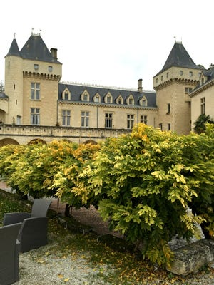 A chateau in Bordeaux, France.