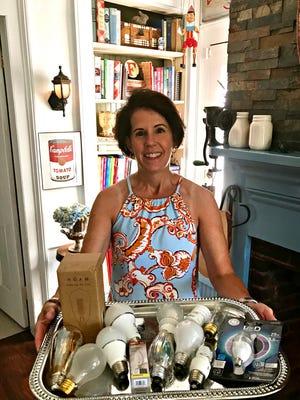 The DIY Dutchess serves up bright advice about lightbulbs on a silver platter.