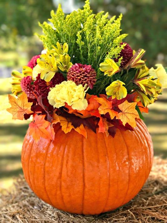 Fall Pumpkin Fl Arrangement An Amazing 5