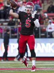 Rutgers quarterback Chris Laviano will enter training camp with a slight edge over Hayden Rettig on the depth chart.