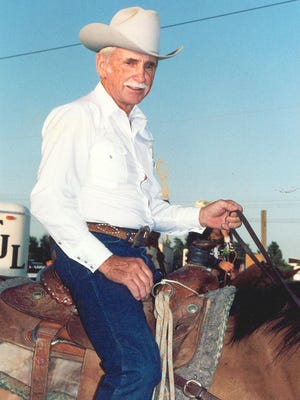 """2004 Kansas Cowboy Hall of Fame Rodeo Cowboy Charles """"Floyd"""" Rumford, Jr. SUBMITTED PHOTO"""