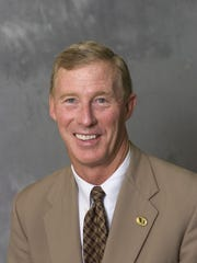 Purdue athletic director Morgan Burke
