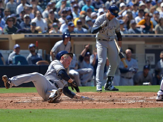 Anderson proved that pitchers rarely practice sliding.