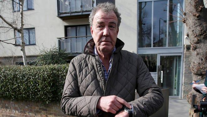 Jeremy Clarkson in London, March 11, 2015.
