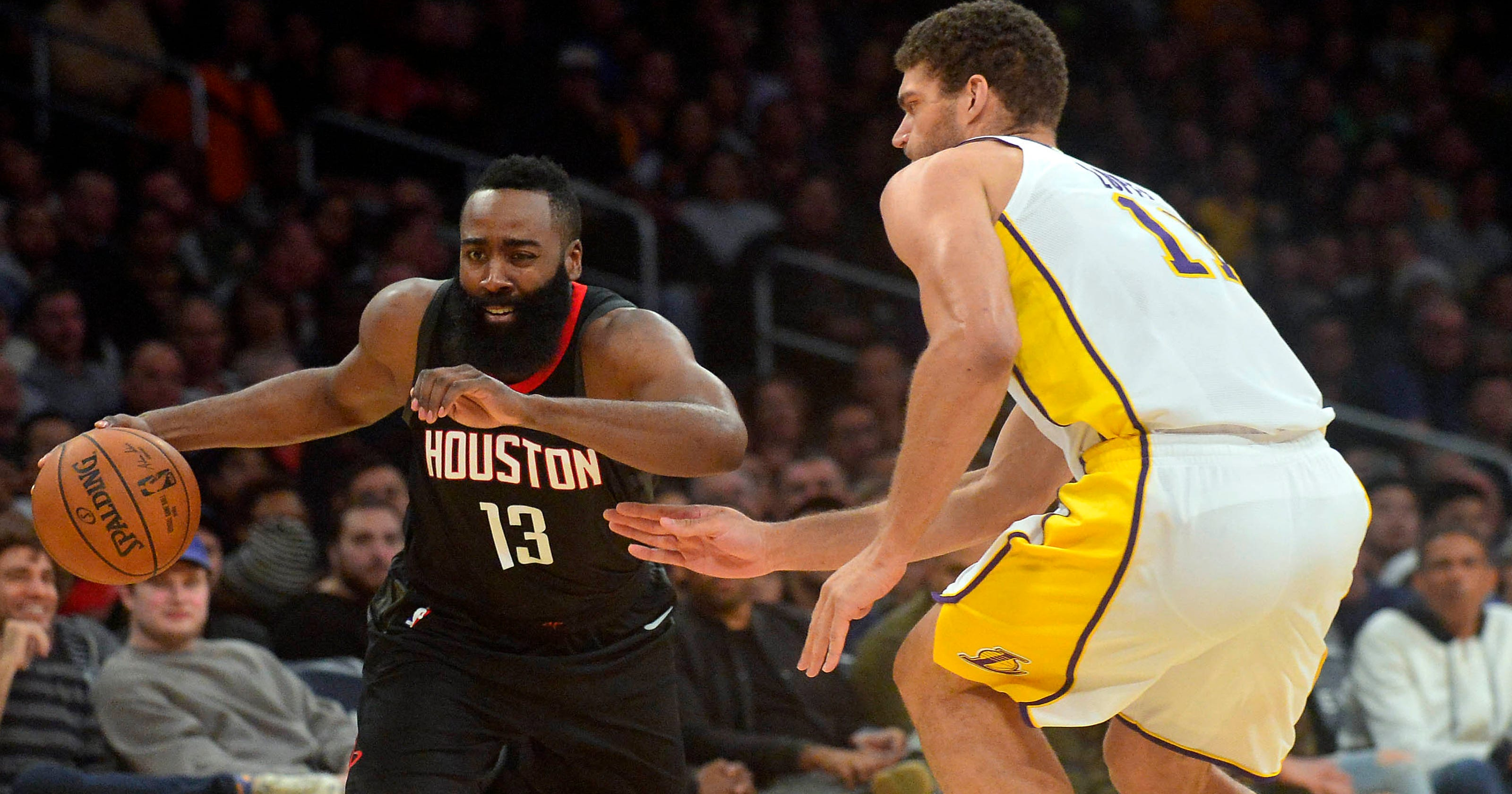 2ad39c00291 Houston Rockets beat Los Angeles Lakers for seventh consecutive win