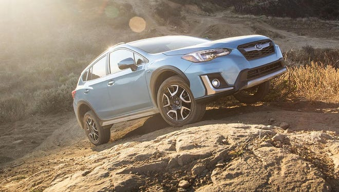 Subaru's monthly U.S. sales, much like this 2019 Subaru Crosstrek Hybrid, have been climbing steadily but the company says this could end if the Trump administration increases tariffs on cars and auto parts on national security grounds.