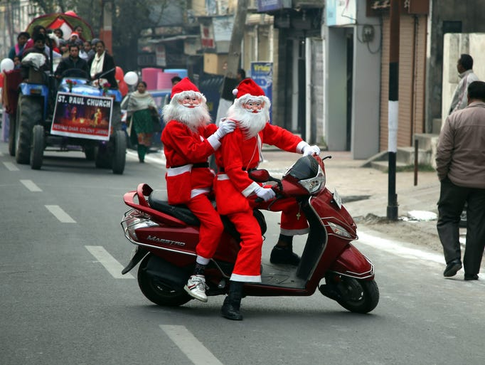 hindu single men in santa claus Christmas jokes back to: holiday jokes  what do you call people who are afraid of santa claus a:  single liners more single liners.