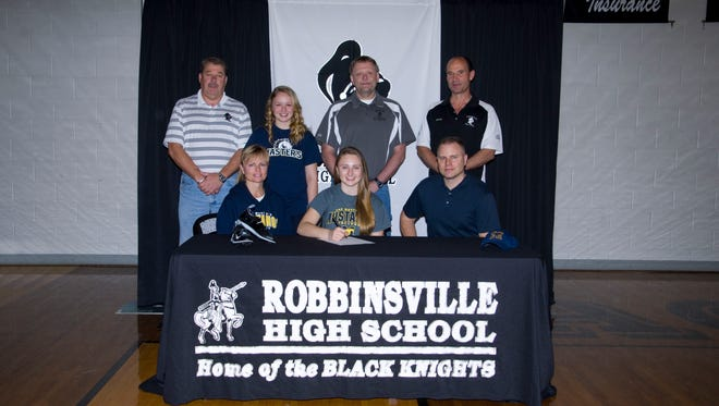 Robbinsville senior Madison Cole has signed with The Master's College track and field program.