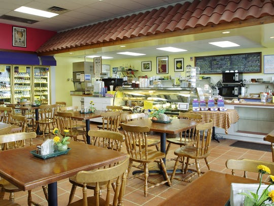 The interior of Dandelion Deli in 2005. The look did not change much from when this image was taken.