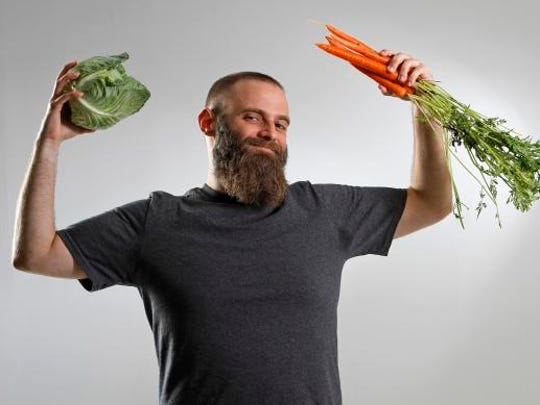 Guidance counselor John Newbold set a goal of eating a vegetable a day for 90 days during the Indy Fit Challenge.