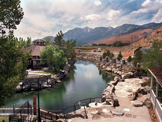 David Walley's Hot Springs Resort in Carson Valley.