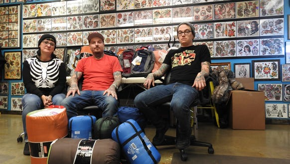 Tattoo shop steps up for homeless for Tattoo shops in zanesville ohio