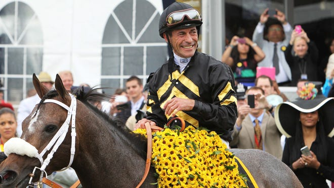 Gary Stevens won the 138th running of the Preakness Stakes in May at Pimlico in Baltimore.