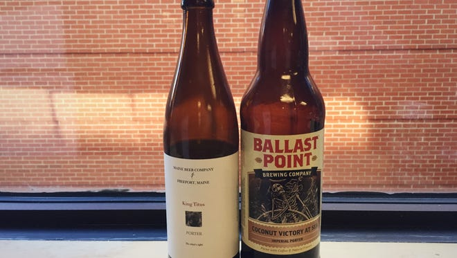 This week, the hosts try a King Titus porter from Maine Beer Company in Freeport Maine and a Ballast Point Brewing Company Coconut Victory at Sea.