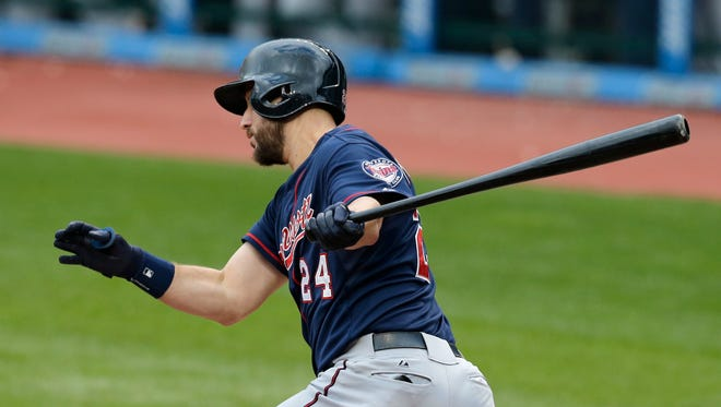 Minnesota Twins' Trevor Plouffe  hit .244 last season with 22 homers and a career-high 86 RBIs.
