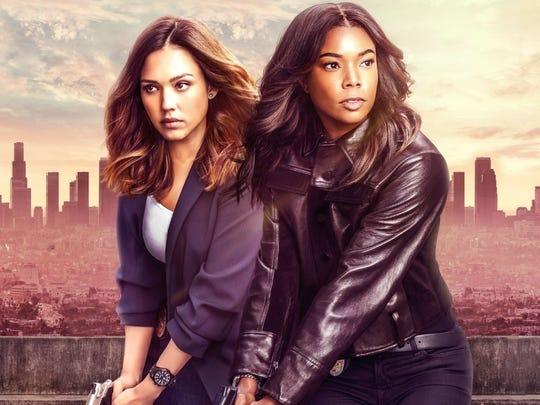 Jessica Alba, left, and Gabrielle Union will star in