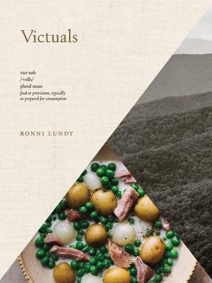 """""""Victuals"""" book cover"""