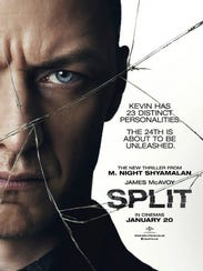 "The poster for ""Split."""
