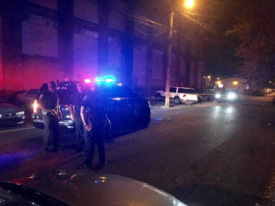 Wilmington police investigate a shooting in the 600
