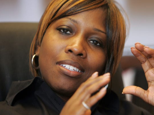 Ex-Detroit principal Kenyetta Wilbourn-Snapp pleaded guilty to bribery in January, 2015.