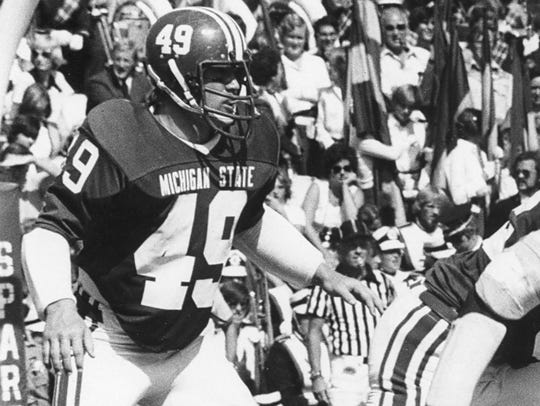 Dan Bass' 543 career tackles as MSU are 68 more than