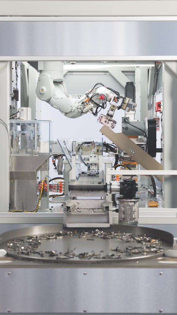 "Daisy is Apple's latest ""disassembly"" robot."