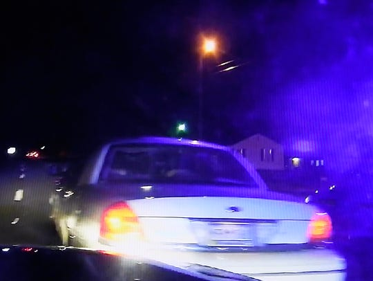 Dashcam videos show key moments in the chase, crash