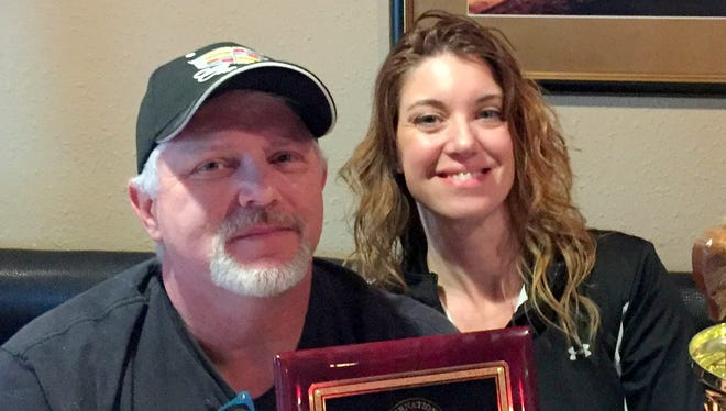 Bob and Kim Yacone proudly display top awards for Best of the Best traditional Pizza and Dry Rub Buffalo Wings. The owners of Forgehdaboudit Authentic Italian Restaurant at 115 N. Silver Avenue have been on a terror in the kitchen since 2016.