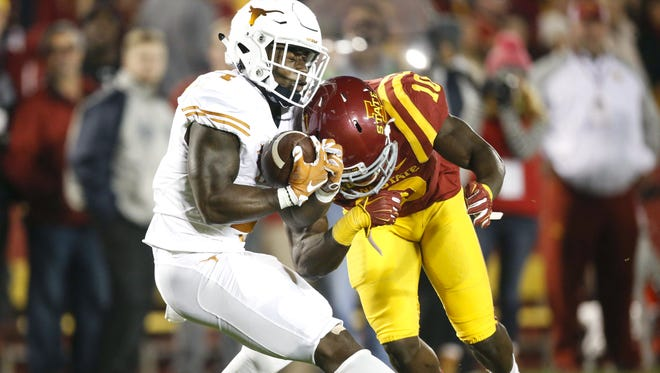 Iowa State's Brian Peavy has become one of the big surprises for the Cyclones on defense this season.