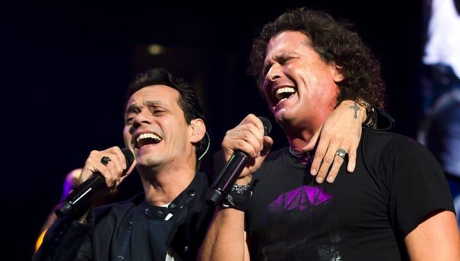 Carlos Vives honrará a Marc Anthony como Persona del Año en los Grammy Latino.