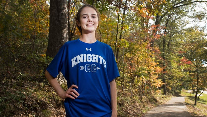 Ava Dobson, who won the Class AA individual state championship, has been named the 2017-2018 Gatorade Girls Cross Country Runner of the Year.