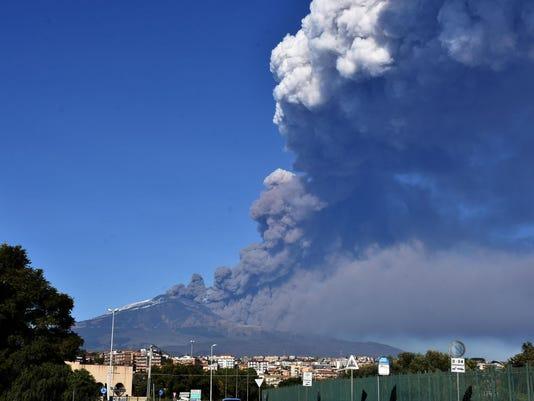 Italy Mount Etna