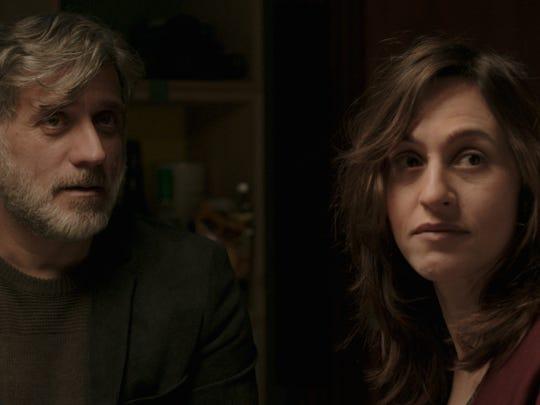 Michael (Lior Ashkenazi) and Daphna (Sarah Adler) learn