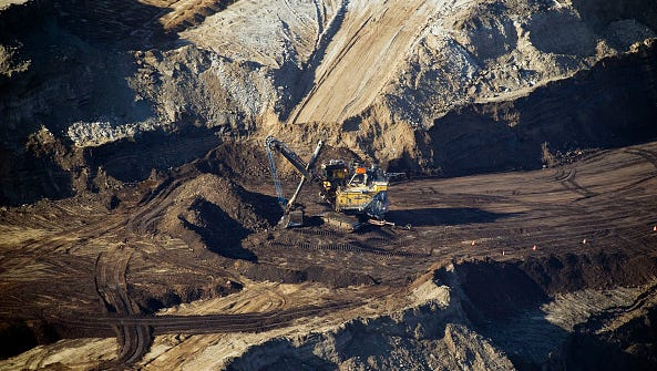 Steven Latoski, Mohave County Public Works director, said Mohave County's involvement in seismic testing is strictly limited to issuing the permit. The location in this file photo is in Syncrude Oil Sands mine near Fort McMurray, Alberta, Canada.