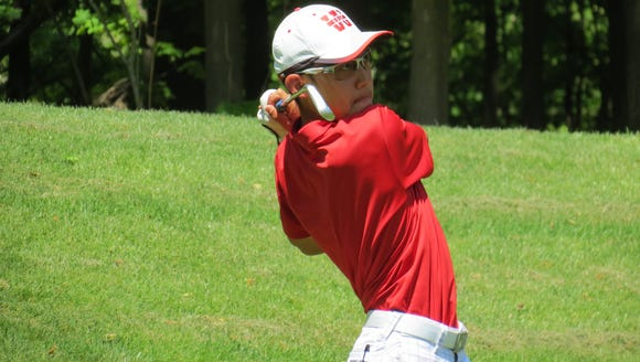 Christopher Lee of Overpeck Golf Course was co-medalist