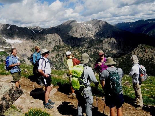 Take a hike to Flattop Mountain.