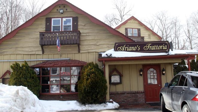 Adriano's Trattoria on Clark Place in Mahopac Feb. 20, 2014.