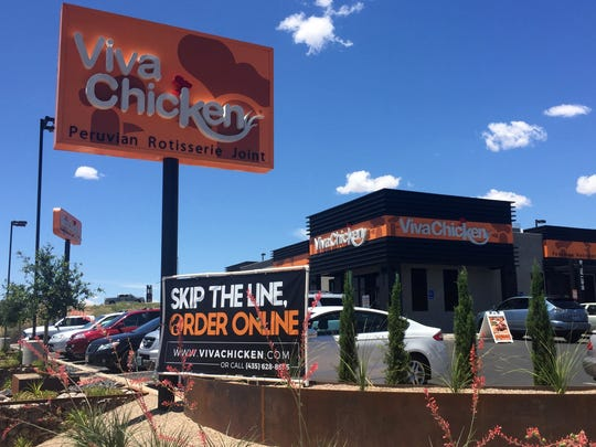 Viva Chicken is located on 100 South in St. George, just east of Interstate 15.