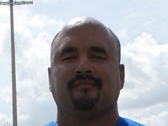 Odem head coach AJ Martinez